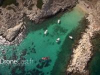 Les îles de Marseille par drone
